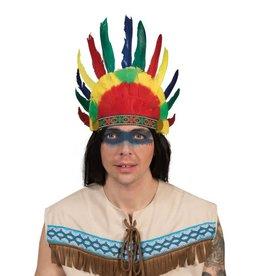 funny fashion/espa indiaan hoofdtooi