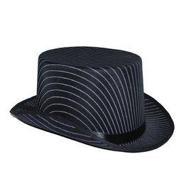 hoge hoed luxe krijtstreep