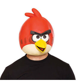 angry bird rood masker