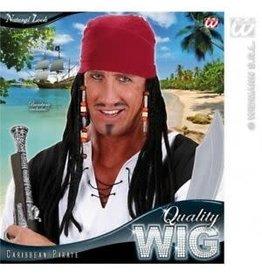 piraat bandana + pruik