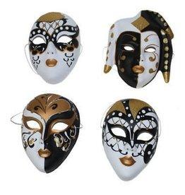 geschilderd masker glitter ass.
