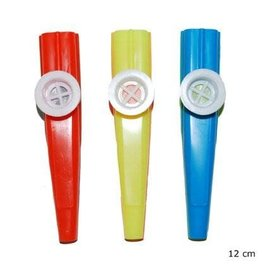 kazoo fluitje 3 stuks