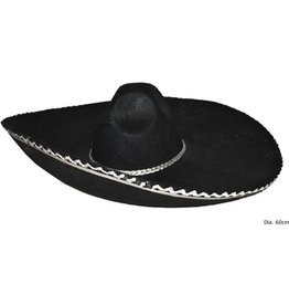 mexicaanse hoed zwart