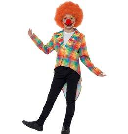 Neon Tartan Clown Tailcoat S