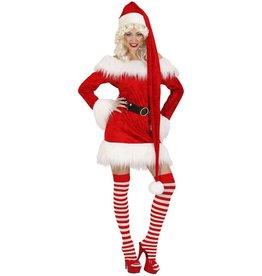 Velvet extra long santa hat