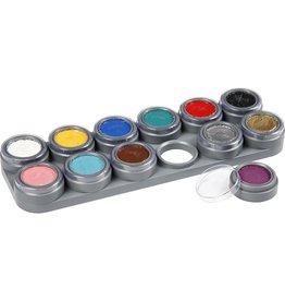 Water Make-Up 12kleuren palet A