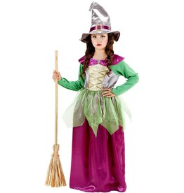 Witch green/purple 158 heks