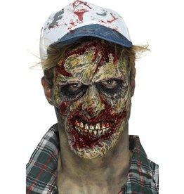 Zombie face prosthetic