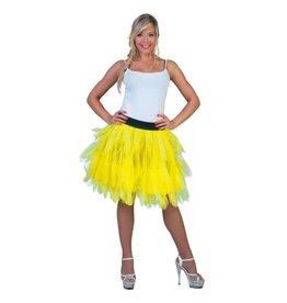 funny fashion/espa Petticoat Fluo Geel
