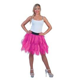 Funny Fashion Petticoat Fluo Roze
