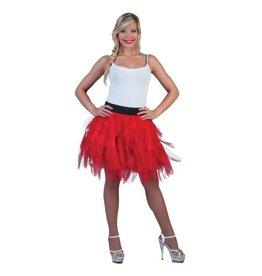 Funny Fashion Petticoat Rood