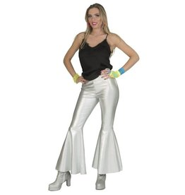 Funny Fashion Disco Fever Broek Zilver