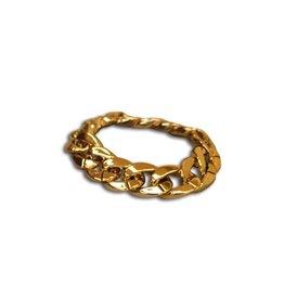 Funny Fashion armband dik goud