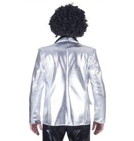 Funny Fashion Disco Fever Jacket Zilver