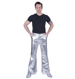 Funny Fashion Disco Fever Broek Zilver