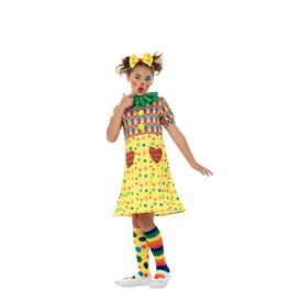 Smiffys Girls Clown M(7-9)