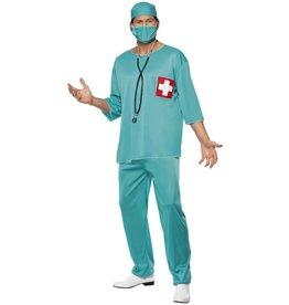 Smiffys Surgeon Chirurg Chirurg dokter