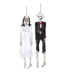 skelet bruid en bruidegom