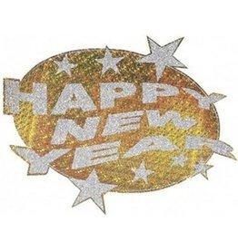 HAPPY NEW YEAR LASER DECOR.-D.50CM