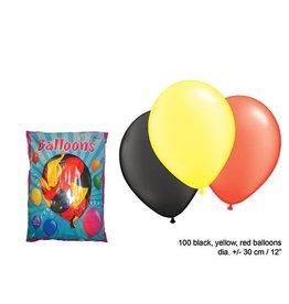 ballonnen Belgie 100 stuks