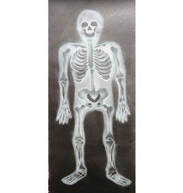 banner skelet 75x185 cm