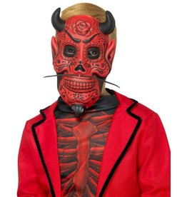 Day of the dead devil mask kids