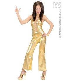 Gold disco jumpsuit studio 54 M