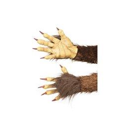 handen weerwolf bruin