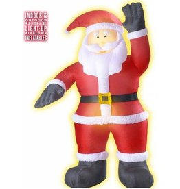light up inflatable santa claus