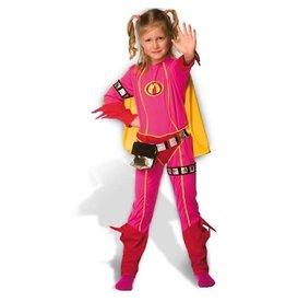Mega Mindy verkleedpak met cape 9--11jaar