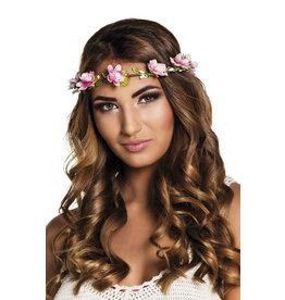 hoofdband met bloemen Mallorca