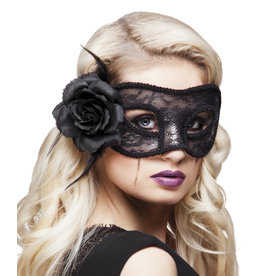 boland Oogmasker mystique zwart