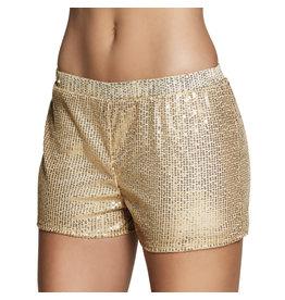 boland Hotpants goud