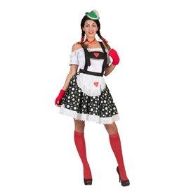 Funny Fashion Tirol Rok Edelweiss