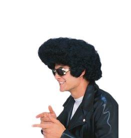 Funny Fashion Pruik Elvis