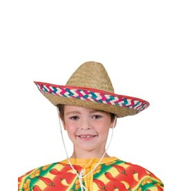 Funny Fashion Mexicaanse hoed kind