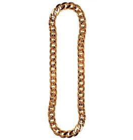 Halsketting goud XL