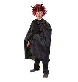 Funny Fashion Black Cape Children