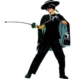 Funny Fashion Zorro cape + broek