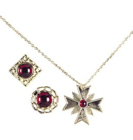 vampire necklace&rings