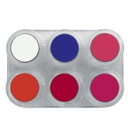 grimas Water Make-Up Fluor Palet F