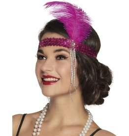charleston hoofdband roos