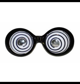 Funny Fashion Funny bril met spiraalglazen