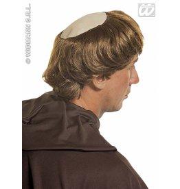 Widmann Pruik met kaal hoofd monnik - Pater