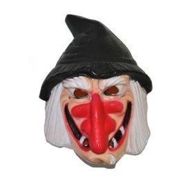 Heks masker kind plastiek