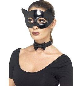 leg avenue Catwoman masker met strik