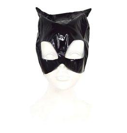 Funny Fashion Catwoman masker blinkende stof
