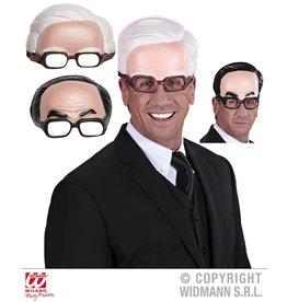 Widmann Halfmasker man met bril