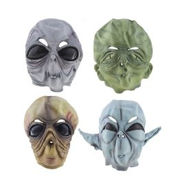 funny fashion/espa Alien masker rubber ass.