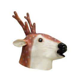 Funny Fashion latex masker rendier hert